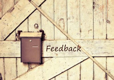 Feedback en newsletter